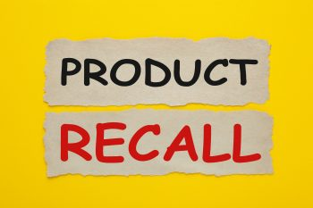 product recall written out