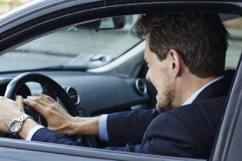 Aggressive Driver Honking Horn